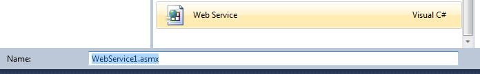 Add Webservice
